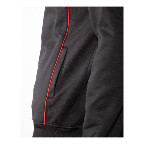 Gears Of War Logo Honeycomb Technical Full Length Zipper Hoodie