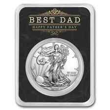2020 1 oz Silver American Eagle - Happy Father's Day - Best Dad - SKU#205780