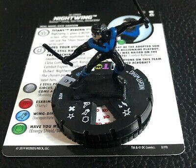 Heroclix DC Rebirth Nightwing #010 Common w// Card