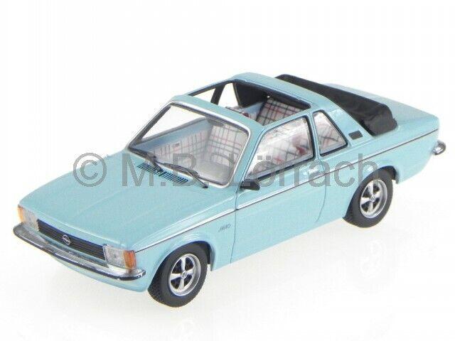 Opel Kadett C Aero hell blau Modelauto 400048130 Minichamps 1 43