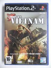 COMPLET jeu CONFLICT VIETNAM sur playstation 2 PS2 en francais spiel juego gioco