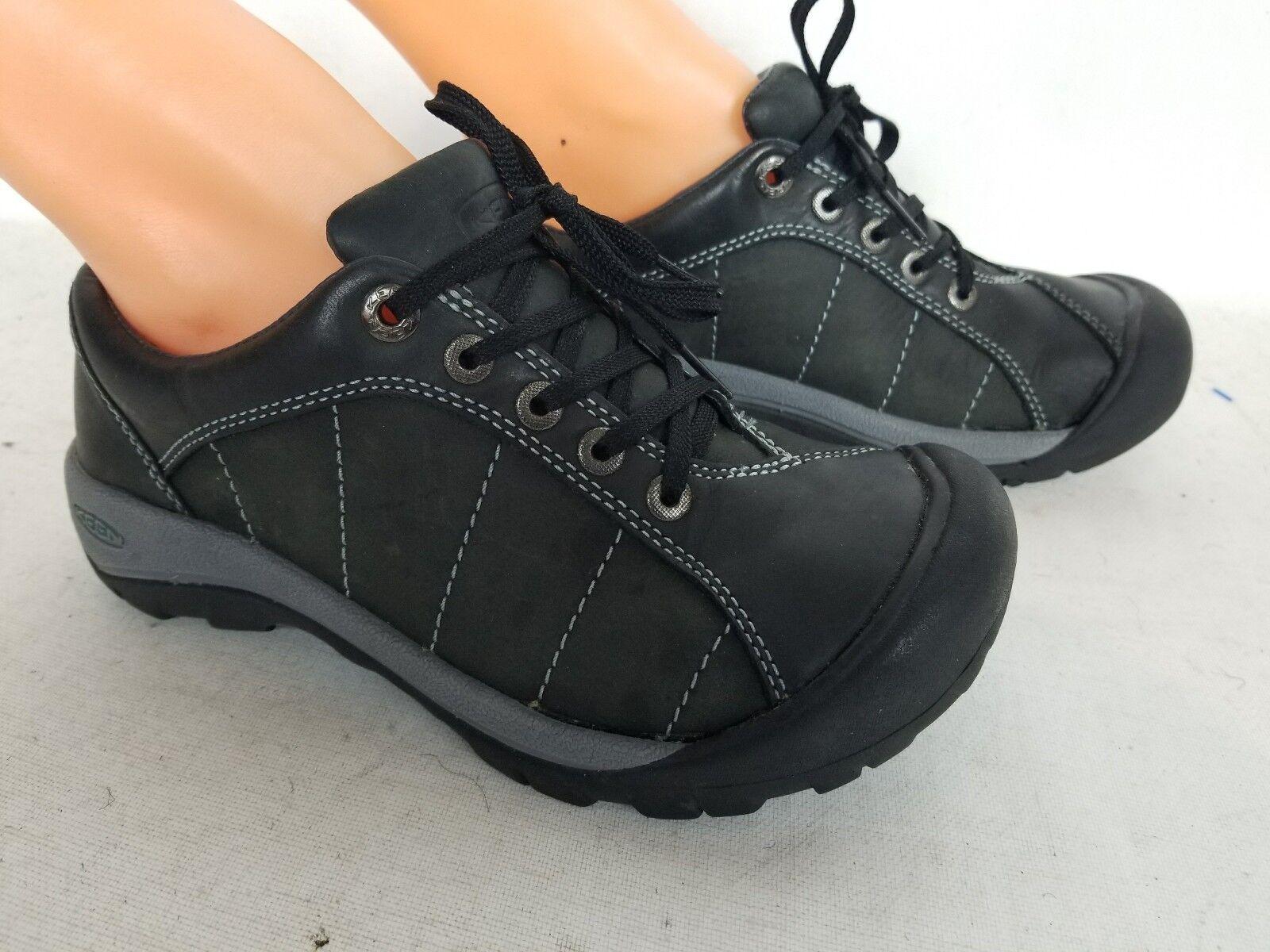5518fd2216a Keen Hiking Black Leather Sports Size 5.5 Women's ntgwgc3140-Women's ...