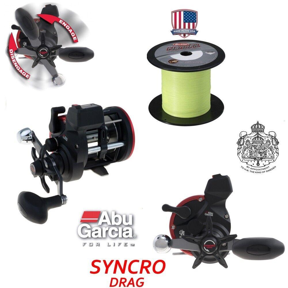 ABU 600 SYNCRO + 600 ABU m Berkley NanoFil 0,28 mm cbd1cc