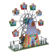 Retro Mechanical Wind-up Musical Ferris Wheel Clockwork Tin Toy Crafts