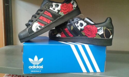 Con E Rose Adidas Tessuto Superstar Scarpe Teschi Ew4q7f1
