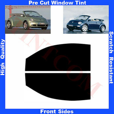 Pre Cut Window Tint VW Beetle 2 Doors Cabriolet 2003-2011 Front Sides Any Shade