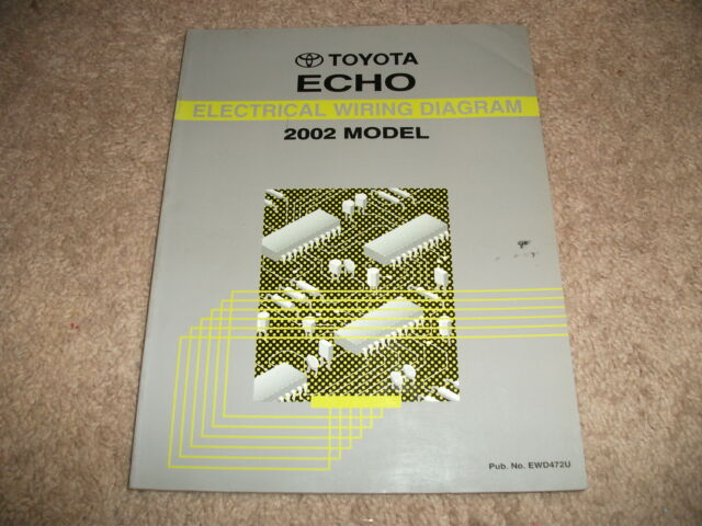 2002 Toyota Echo Electrical Wiring Diagrams Service Manual