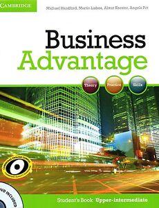 Cambridge-BUSINESS-ADVANTAGE-Student-039-s-Book-UPPER-INTERMEDIATE-with-DVD-New