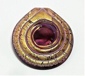 Pendente Donna Spirale oro Antica Murrina Vetro di Murano Made in Italia Artv796
