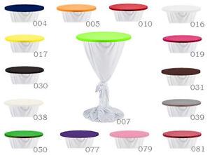top f r stehtischhussen bistrotischhussen stehtisch bistrotisch hussen ebay. Black Bedroom Furniture Sets. Home Design Ideas