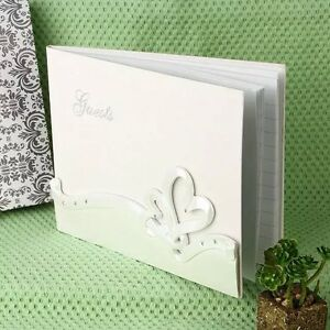 Guestbook Matrimonio Libri degli ospiti FORMA CUORE Resina Partecipazione regalo