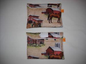 Breyer-stablemate-pony-pocket-pouch-custom-model-horse-transport-fabric