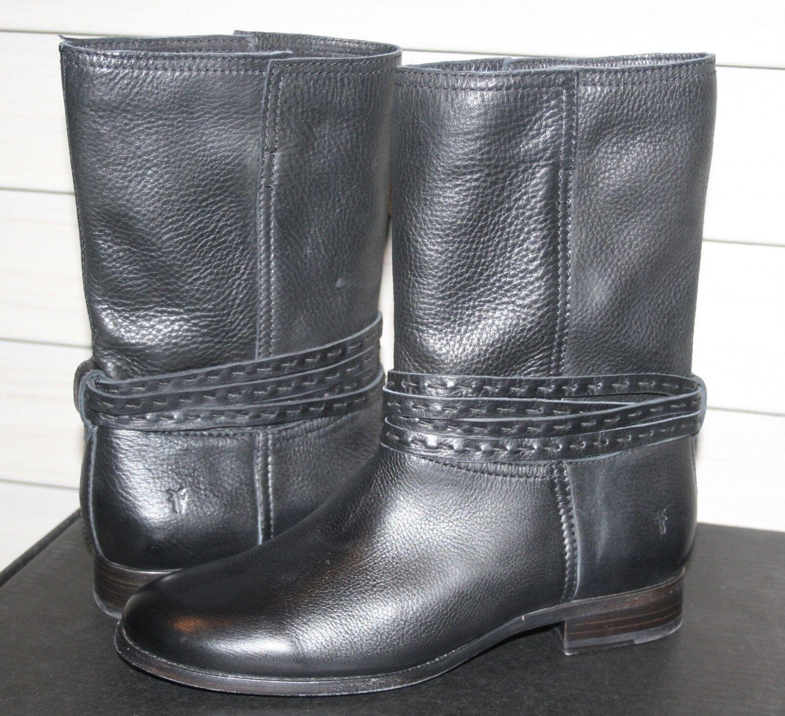 FRYE CARA PICKSTITCH MID US 9 Woman's Mid Calf Boot Back