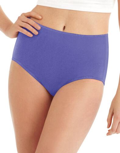 Hanes Brief Panties Womens 8 Pack Microfiber Cool Comfort Assorted Under wear