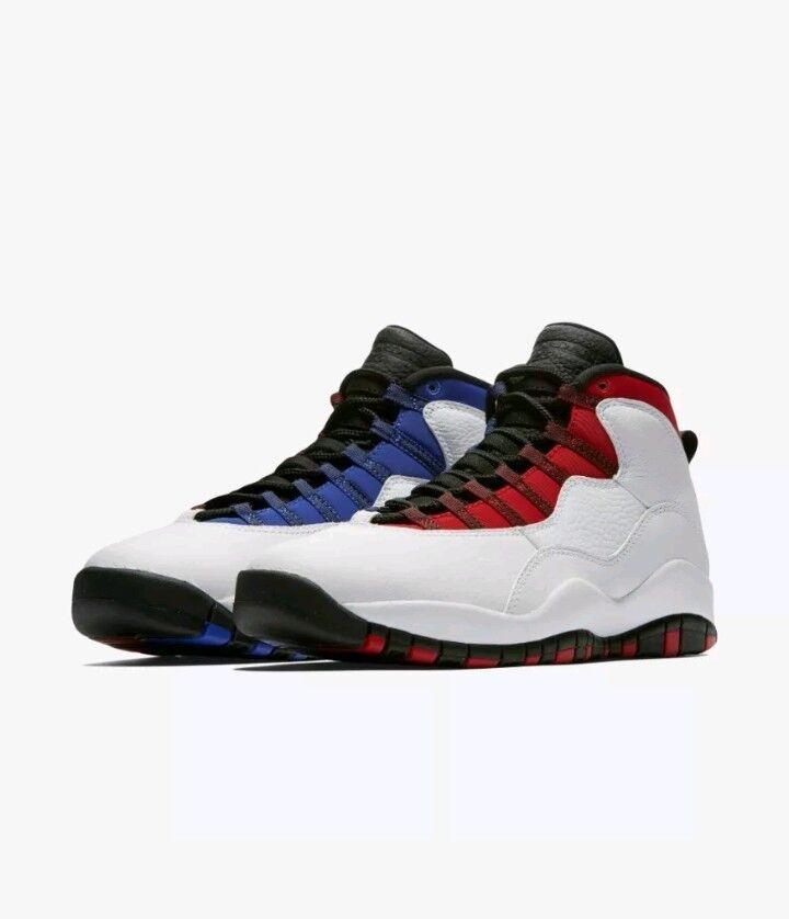 size 40 f12a3 ec38c Air Jordan Retro 10 x clase de 2018 MVP MVP MVP Russell Westbrook comodo el  último. Air Jordan Retro IV 4 Mars Negromon blanco negro rojo ...