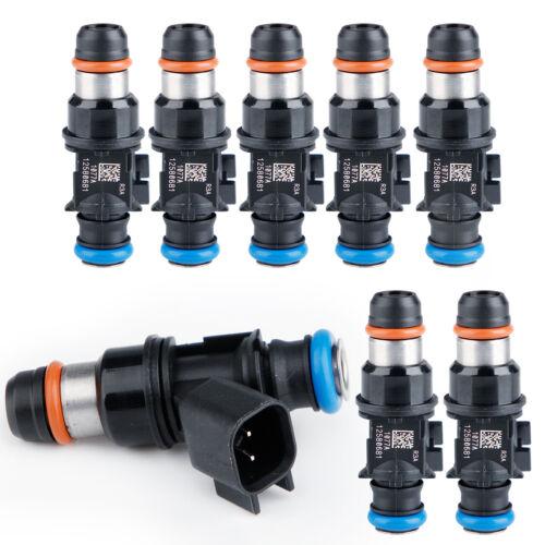 New Set 8 Fuel Injectors 12580681 For Delphi 2004-2010 Chevy GMC 4.8 5.3 6.0 6.2