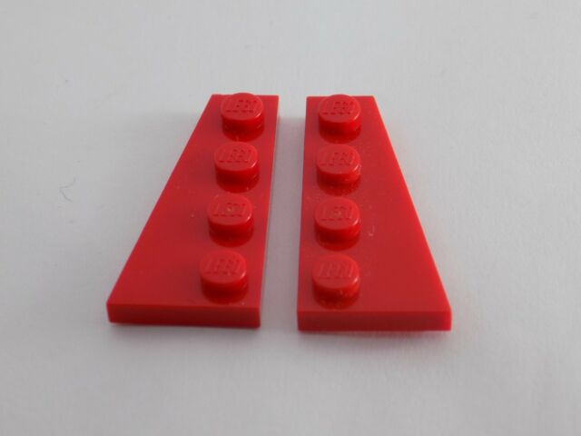 LEGO New Lot of 8 Dark Red 2x4 Basic Bulding Bricks