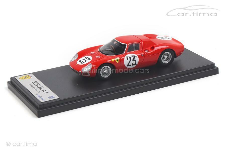Ferrari 250 LM - 24 H  LE hommeS 1964-Van Ophem Dumay-LOOKintelligent 1 43 - LSLM 077  différentes tailles