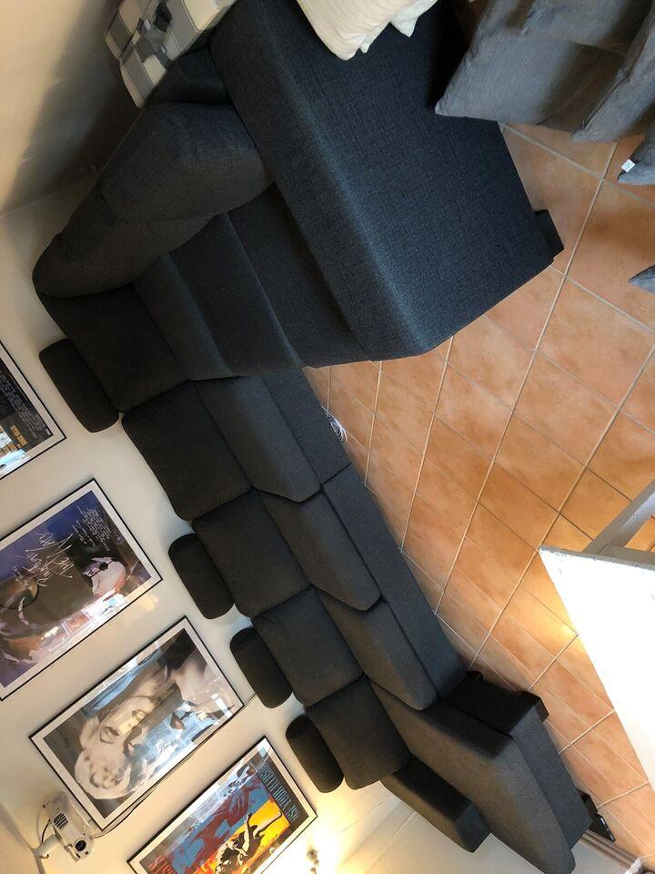 U-sofa, 6 pers.