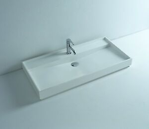 Bathroom Sink 24 X 18 countertop solid surface stone modern hung bathroom sink 24 x 18