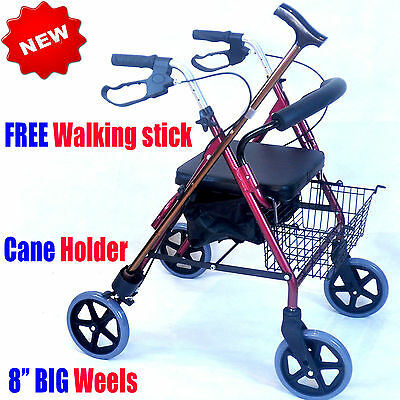CA882 Caremax  Foldable Aluminium Rollator Walker Walking Frame
