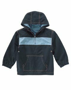 NWT Gymboree Boys Hooded Pullover Jacket L 8-10