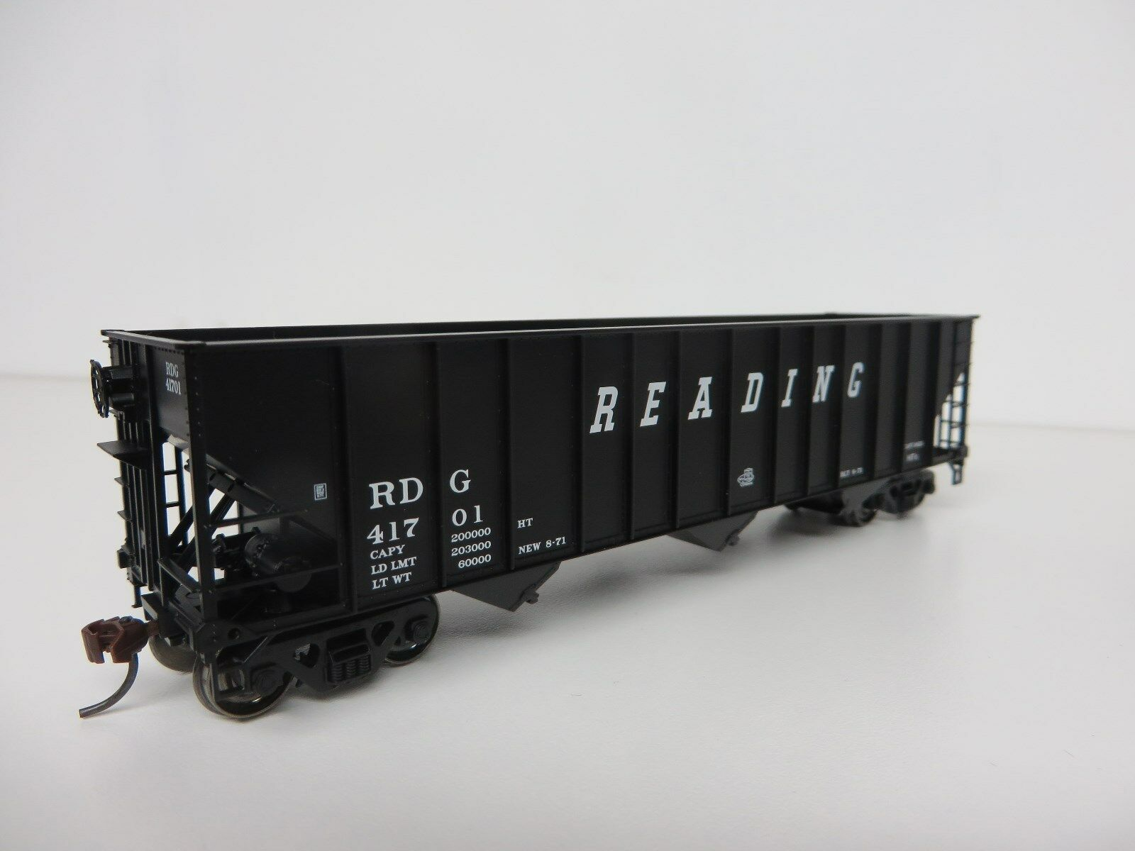 Bowser READING (Set-2) 100-Ton 3 Bay Hopper Cars (3 car set   3 car  ) R-T-R