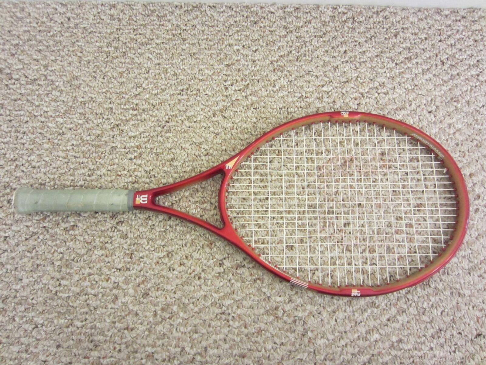 Wilson Kevlar Select OS 110 SI 7.6 Tennis Racquet Grip 4 1 4  w  Nice Bag Cover
