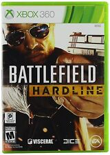 Battlefield: Hardline [Xbox 360, NTSC, Action Police Cops FPS Video Game] NEW