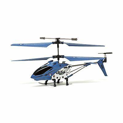 COBRA RC TOYS HELICOPTER - SKYLINE 3.5 CHANNEL WITH GYRO - BLUE - W/ WARRANTY!