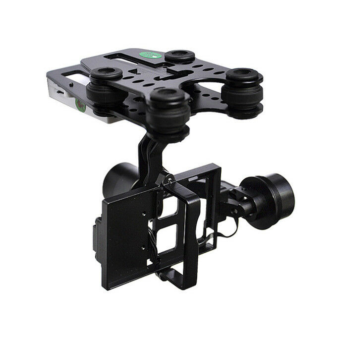 Gimbal Walkera G-2D Brushless Gimbal per GoPro Hero3 - i Look iLook+ Metallo