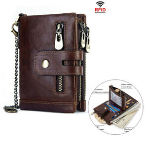 Men-Leather-Small-Compact-Bifold-Pocket-Wallet-Mini-Purse-Credit-Cards-Wallet