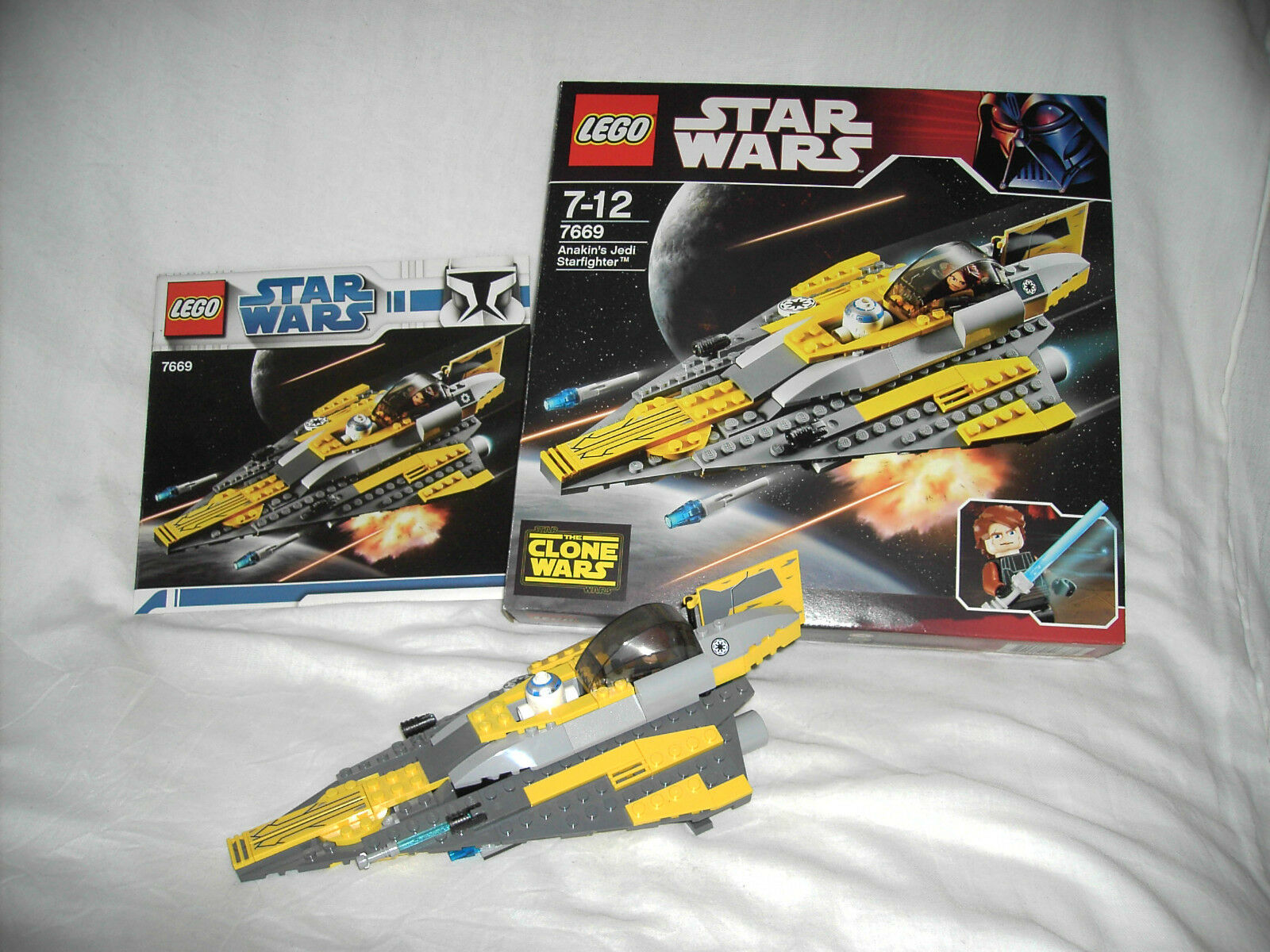 LEGO STAR WARS 7669 - ANAKIN'S STAR FIGHTER