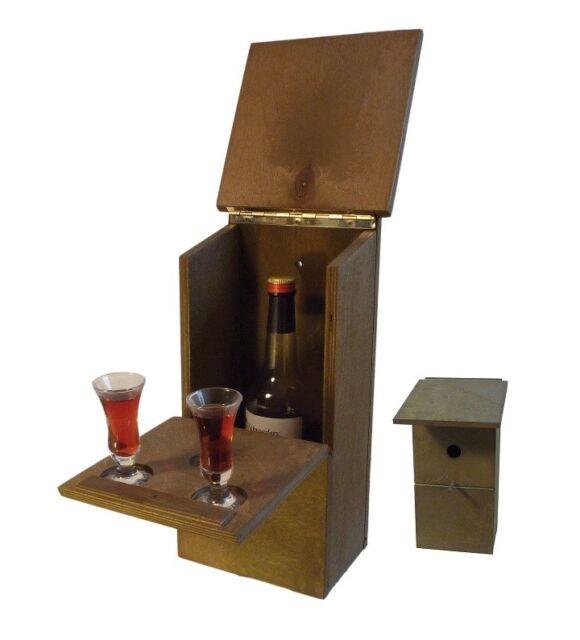 Bird House With Minibar Schnapsbar Gartenbar Zwitscherkasten Joke For Sale Online Ebay