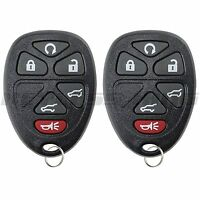 2 New Remote Start Keyless Entry Key Fob Clicker Control For 15913427