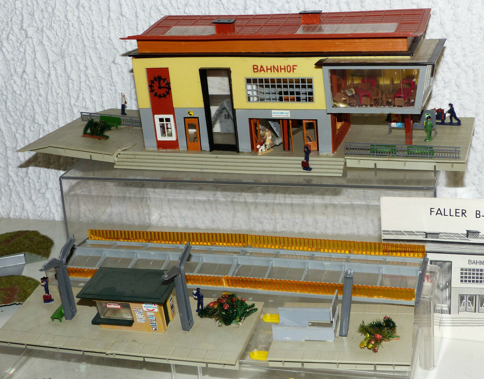 13 piezas colección Faller, Kibri...    edificio, la estación Lindental b-99, tren de transición 2ce932