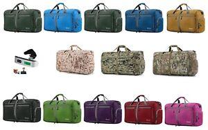 417f97c5b4 60L Foldable Travel Duffle Bag Gym Sports Carryon Shopping Digital ...