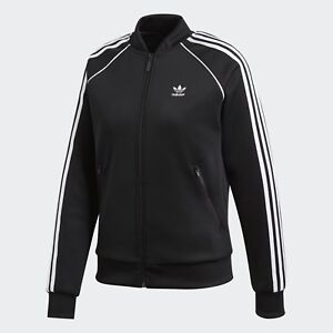 2495bab2ad9 Image is loading ADIDAS-ORIGINALS-SUPERSTAR-WOMEN-039-S-TRACK-JACKET-
