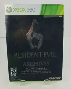 Resident-Evil-Archives-Microsoft-Xbox-360-2012-Complete-W-Box-amp-DVD