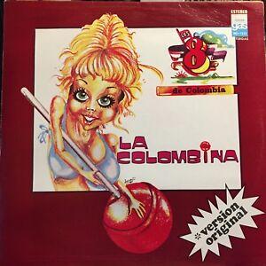 LOS-8-DE-COLOMBIA-1981-LA-COLOMBINA-LATIN-CUMBIA-LP-MEXICO-POR-CUANTO-ME-LO-DA