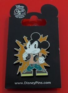 Walt-Disney-Theme-Park-Enamel-Pin-Badge-Mouse-Character-with-Headphones