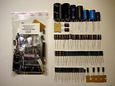 PHILIPS CD 880 Player komplett Satz Elkos COMPLETE recapping recap caps kit