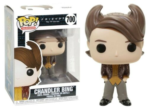 Funko Pop! Friends Chandler Bing 80/'s Hair n°700