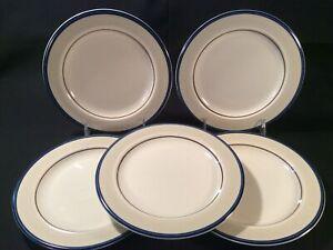 """Lot 5 Ranmaru """"Dimension III Prelude 9564"""" Stonewear Salad Plates 7 ⅝"""""""