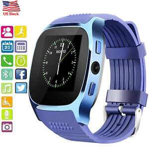 1c5dac423 Image is loading Sports-Bluetooth-Smart-Watch-Fitness-Tracker-for-Android-