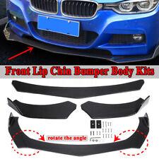 For 06-08 BMW E90 E91 Carbon Fiber Front Spoiler Rear Splitter UV Resist PRO