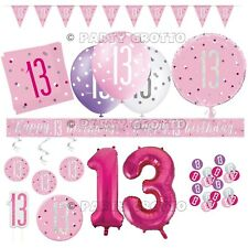 Girl S 13th Teenager Happy Birthday Party Balloons Decorations