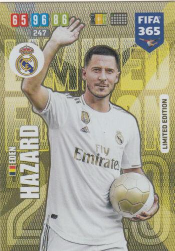 PANINI ADRENALYN FIFA 365 2020-Eden Hazard Limited Edition