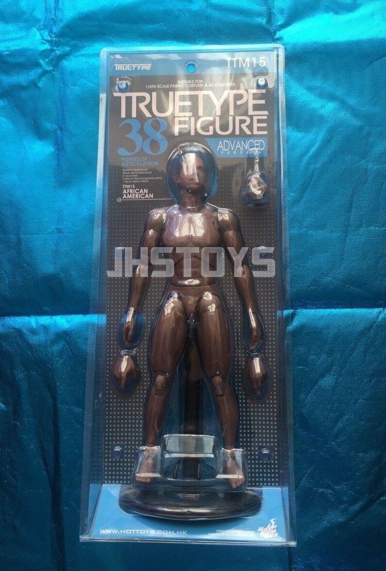 Hot Hot Hot Toys 1/6 True Type Male African American Body Advanced Version TTM15 Japan 4f750e