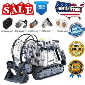 Liebherr-13130-R-9800-Technic-Building-Blocks-RC-Excavator-Truck-Model-Cars-Toys